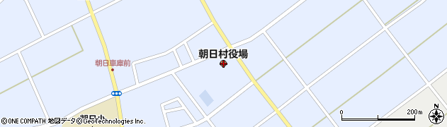 長野県東筑摩郡朝日村周辺の地図