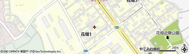 茨城県つくば市花畑周辺の地図