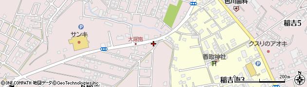 アヴニール美容室 千代田店周辺の地図