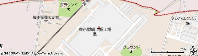 東京製綱株式会社 土浦工場物流グループ周辺の地図