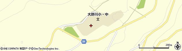 長野県松本市安曇(宮の原)周辺の地図