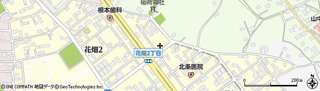 大森畳店周辺の地図