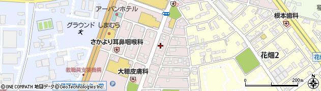 茨城県つくば市筑穂周辺の地図