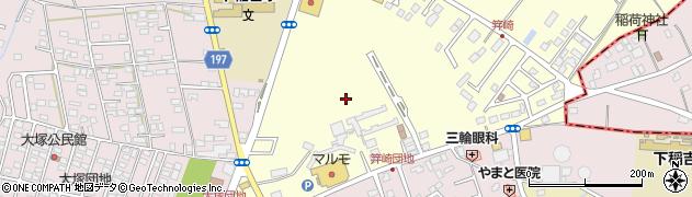 茨城県かすみがうら市新治周辺の地図