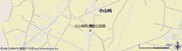 茨城県土浦市小山崎周辺の地図