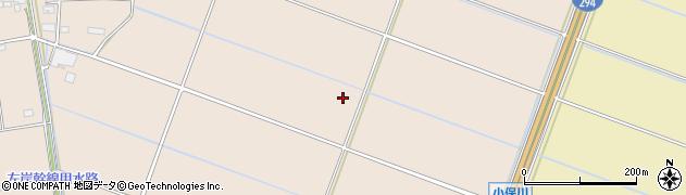 茨城県常総市小保川周辺の地図