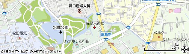 天満社周辺の地図