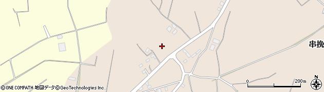 茨城県鉾田市串挽周辺の地図