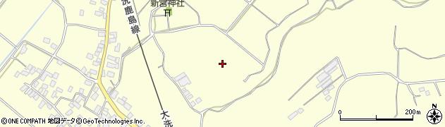 茨城県鉾田市安塚周辺の地図