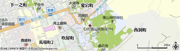 素玄寺周辺の地図