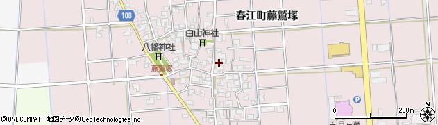 福井県坂井市春江町藤鷲塚周辺の地図