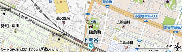石上寺周辺の地図