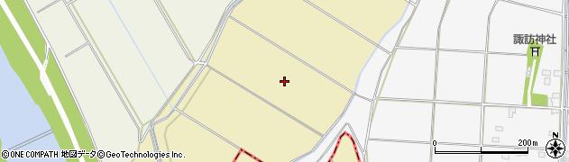 茨城県下妻市鬼怒周辺の地図