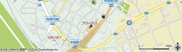 フリークスストア 古河店周辺の地図