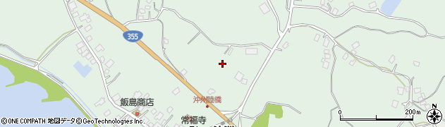 茨城県行方市沖洲周辺の地図