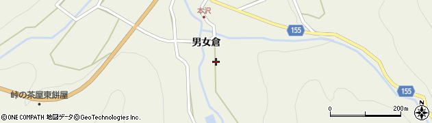 長野県小県郡長和町和田男女倉周辺の地図