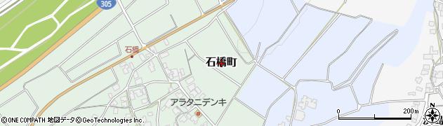 福井県福井市石橋町周辺の地図
