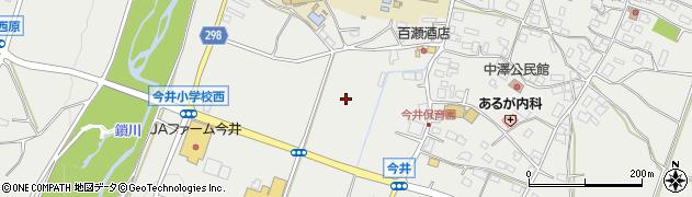 長野県松本市今井(中沢)周辺の地図