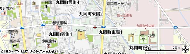 福井県坂井市丸岡町東陽周辺の地図