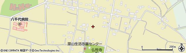 茨城県八千代町(結城郡)栗山周辺の地図