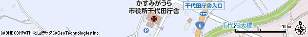 茨城県かすみがうら市周辺の地図
