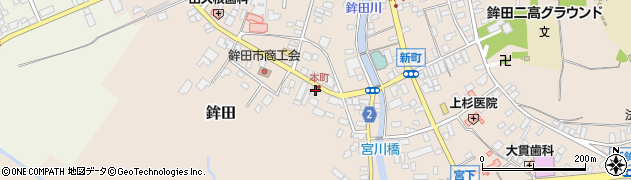 ミートセンター 菊地周辺の地図