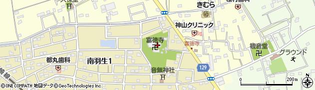 冨徳寺周辺の地図