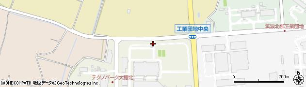 茨城県つくば市大久保周辺の地図
