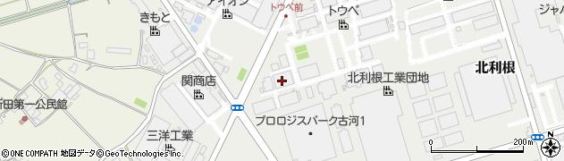 東豊梱包運輸有限会社 北利根事業所周辺の地図