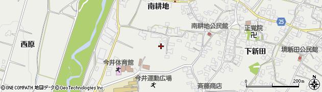 長野県松本市今井(南耕地)周辺の地図