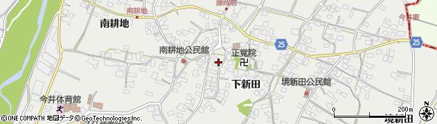 長野県松本市今井(下新田)周辺の地図
