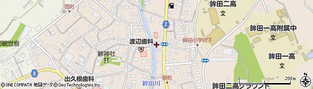 大堀本店周辺の地図