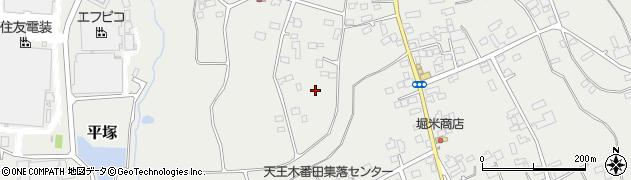 茨城県八千代町(結城郡)平塚周辺の地図