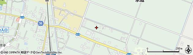 茨城県下妻市宗道周辺の地図