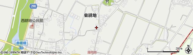 長野県松本市今井(東耕地)周辺の地図