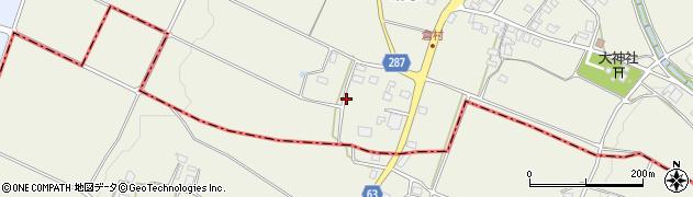 長野県松本市内田(倉村)周辺の地図