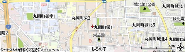 福井県坂井市丸岡町栄周辺の地図