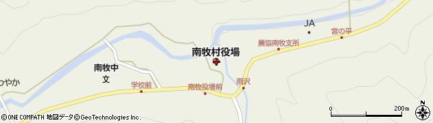 群馬県甘楽郡南牧村周辺の地図