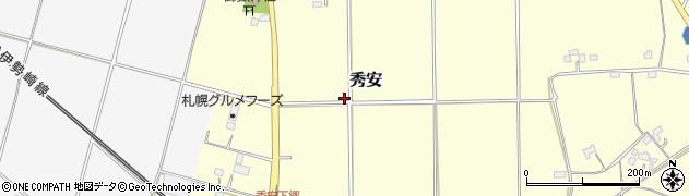 埼玉県羽生市秀安周辺の地図