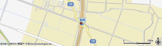 亀崎周辺の地図