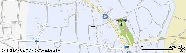 茨城県八千代町(結城郡)蕗田周辺の地図