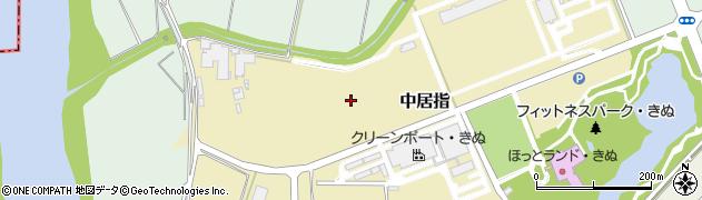 茨城県下妻市中居指周辺の地図
