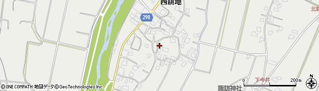 長野県松本市今井(西耕地)周辺の地図