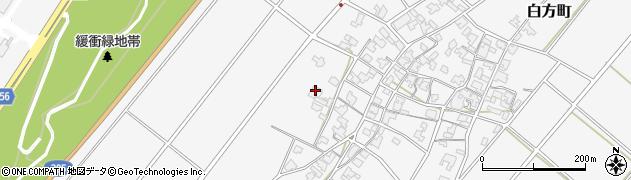 仏護寺周辺の地図