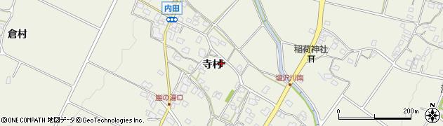 長野県松本市内田(寺村)周辺の地図
