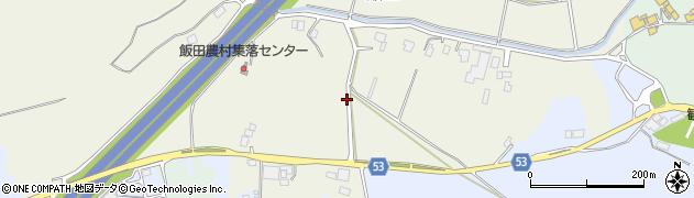 茨城県かすみがうら市飯田周辺の地図