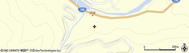 長野県松本市安曇(沢渡)周辺の地図