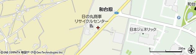 日の丸商事中間処理場周辺の地図