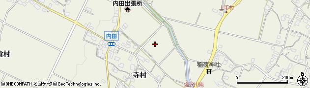 長野県松本市内田(花見)周辺の地図