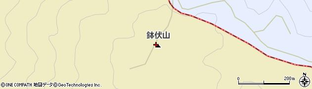 鉢伏山周辺の地図